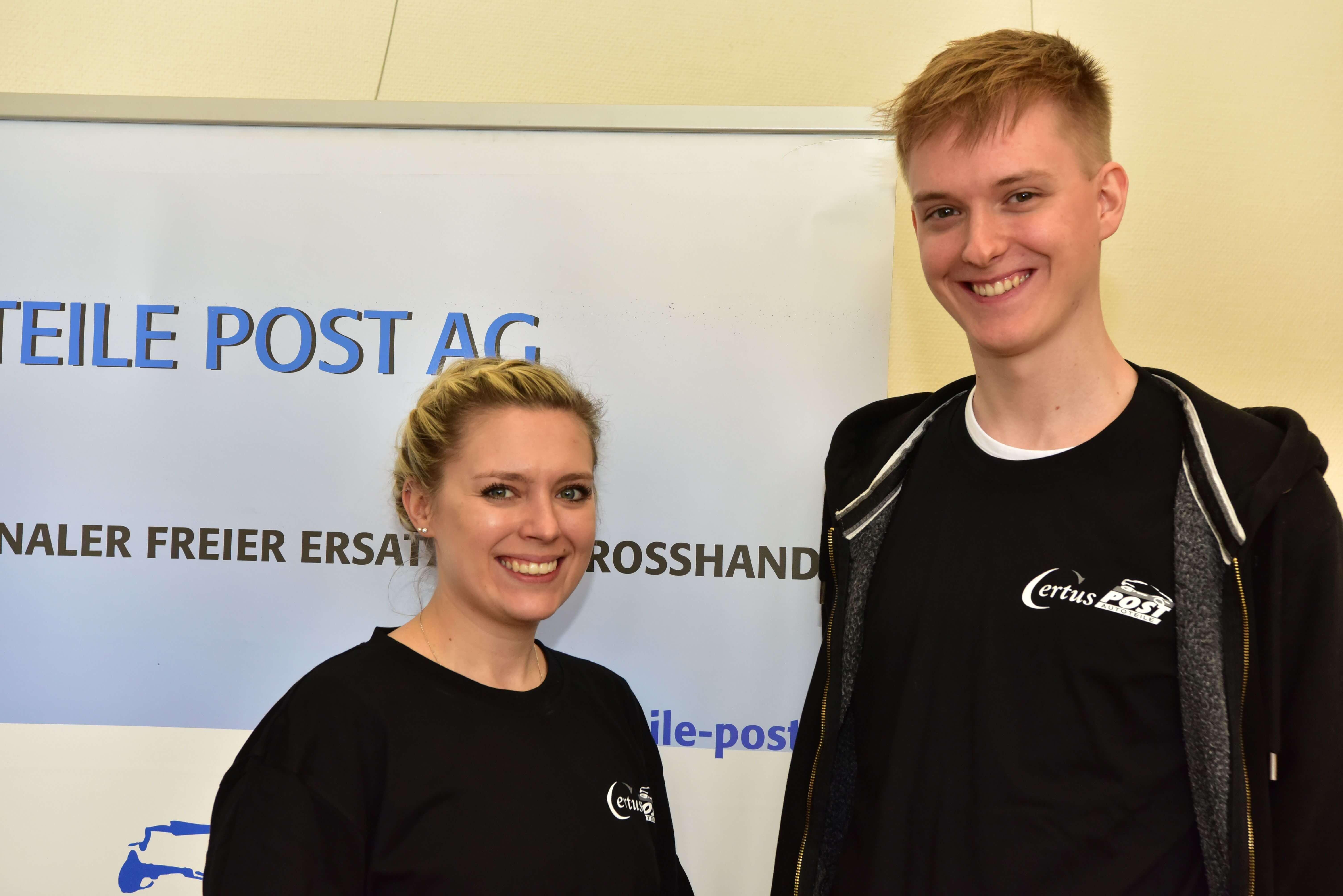 Autoteile Post AG bei der Berufsmesse in Mönchengladbach